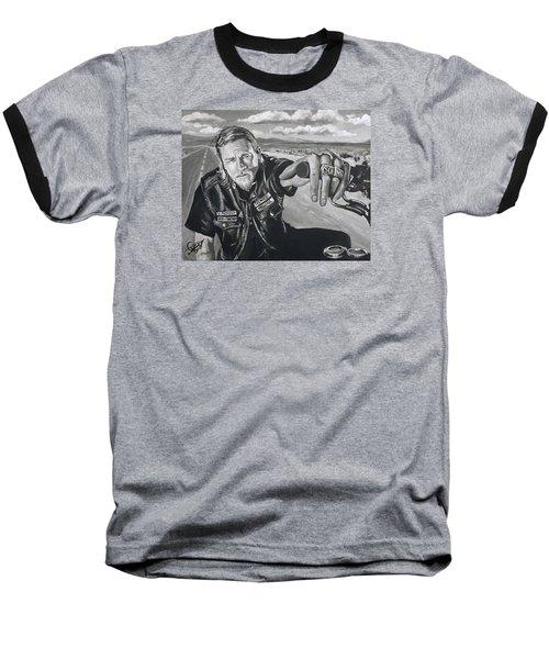 Prince Charming - Jax Baseball T-Shirt by Tom Carlton