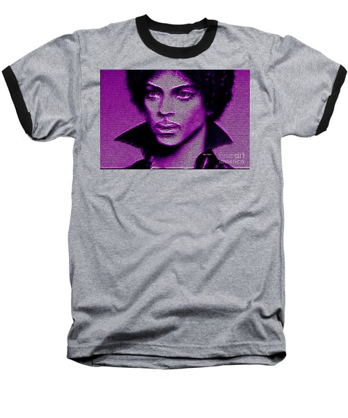 Prince - Tribute In Purple Baseball T-Shirt