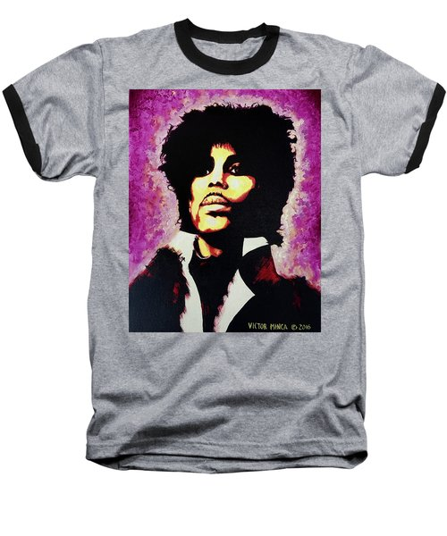 Prince Baseball T-Shirt by Victor Minca