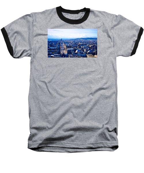 Prince's Street  Baseball T-Shirt by Ashley Hudson