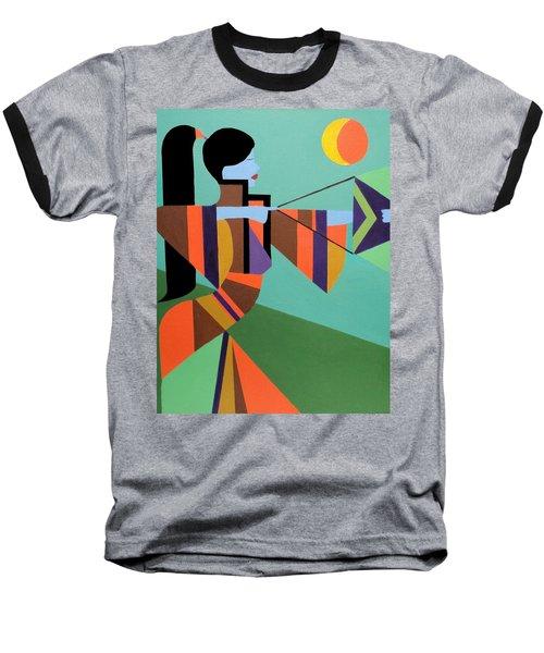Princess Arrow Baseball T-Shirt by Angelo Thomas