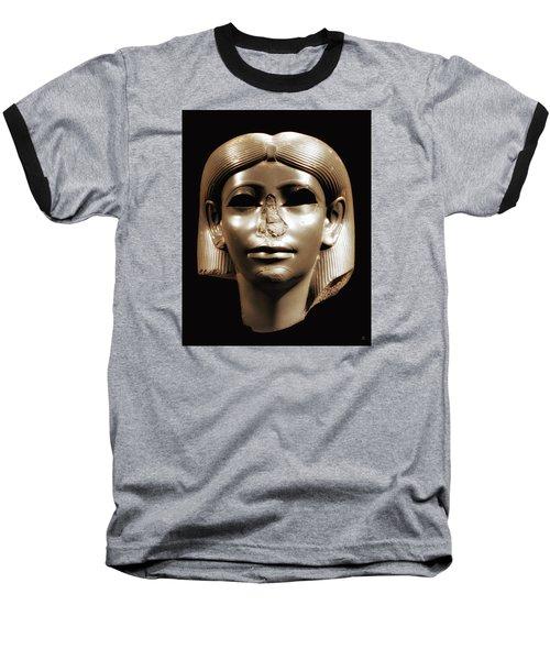 Princess Sphinx Baseball T-Shirt by Nigel Fletcher-Jones