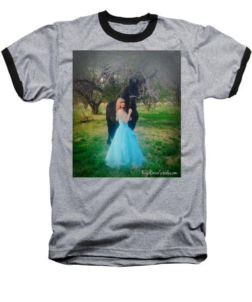 Princess' Stallion Baseball T-Shirt