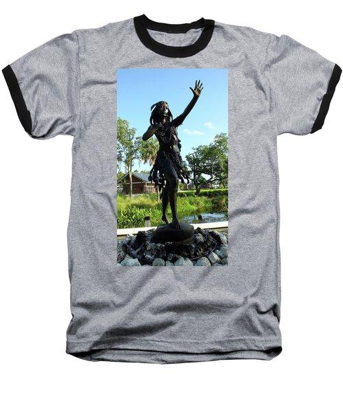 Princess Ulele Statue Baseball T-Shirt
