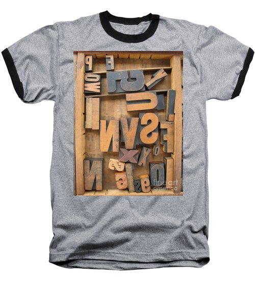 Printers Box Baseball T-Shirt