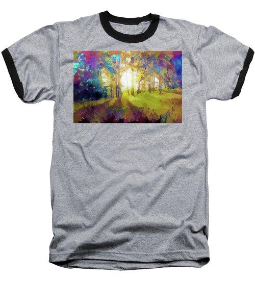 Prismatic Forest Baseball T-Shirt