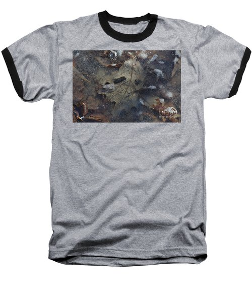 Baseball T-Shirt featuring the photograph Prisoner Of The Ice by Cendrine Marrouat
