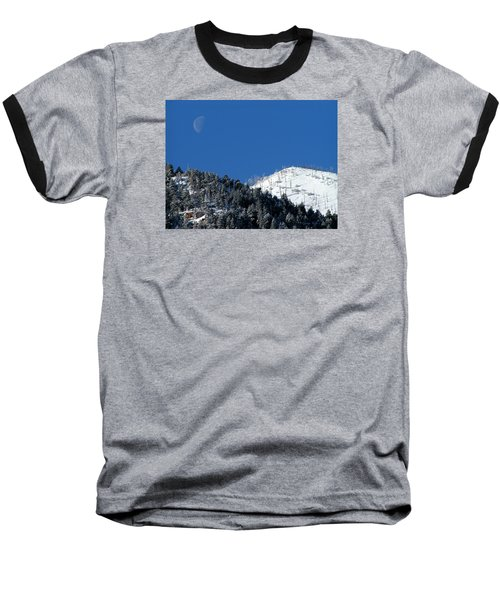 Pristine Winter Morning Baseball T-Shirt