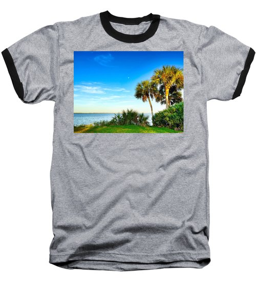 Private Paradise  Baseball T-Shirt by Carlos Avila