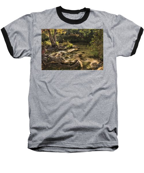 Baseball T-Shirt featuring the photograph Private Retreat by Tamyra Ayles