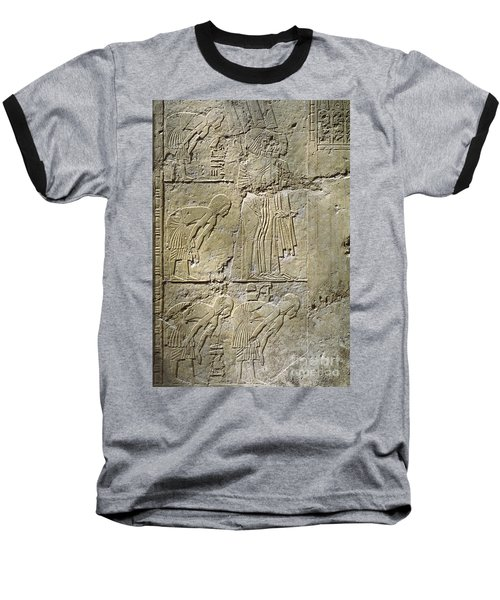 Private Tombs -painting West Wall Tomb Of Ramose T55 - Stock Image - Fine Art Print - Thebes Baseball T-Shirt
