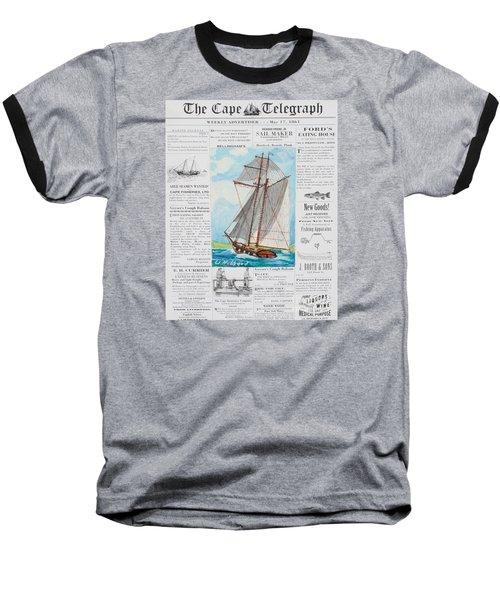 Privateer Off Charleston, Sc Baseball T-Shirt