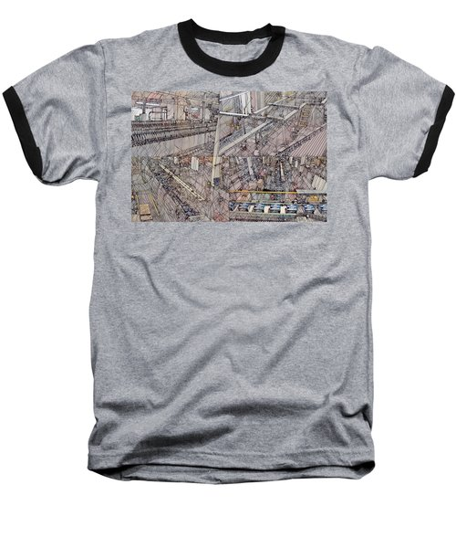 Production Line Baseball T-Shirt