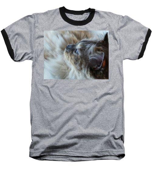 Profile Baseball T-Shirt by Karen Stahlros