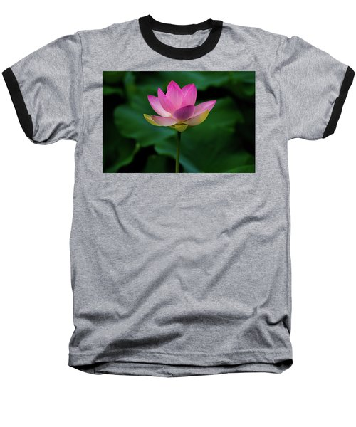 Profile Of A Lotus Lily Baseball T-Shirt