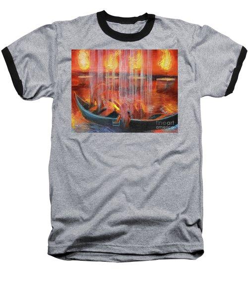 Prophetic Message Sketch 45 Detail Of Boat Baseball T-Shirt