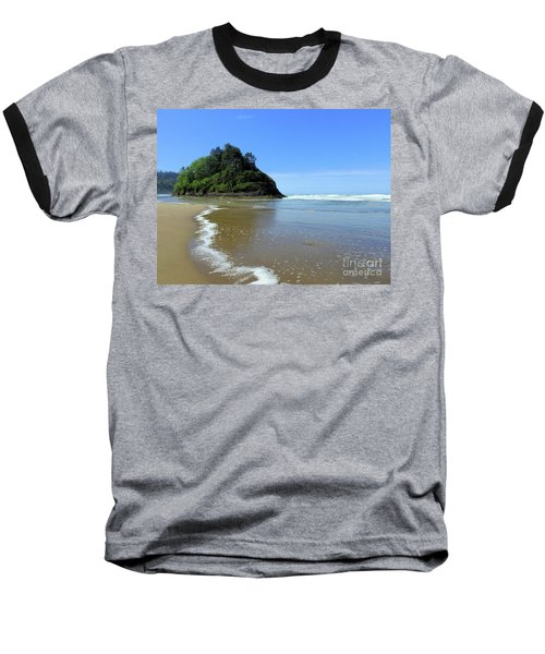 Proposal Rock Coastline Baseball T-Shirt