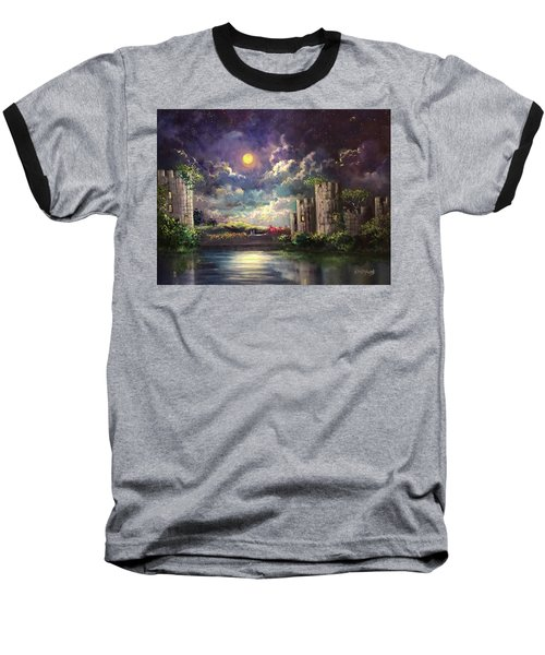 Proposal Underneath The Moon Baseball T-Shirt