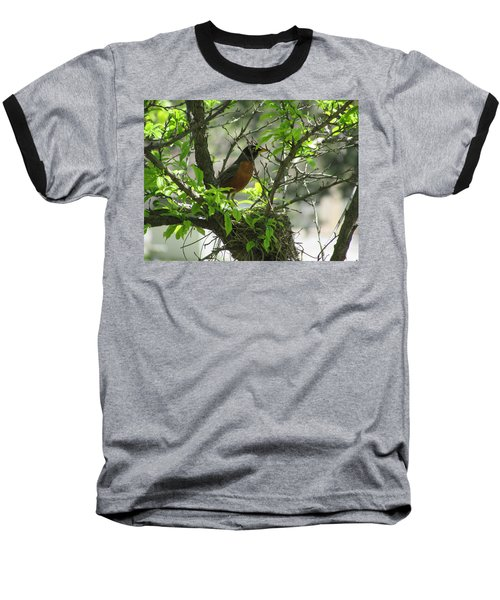 Protecting The Nest Baseball T-Shirt