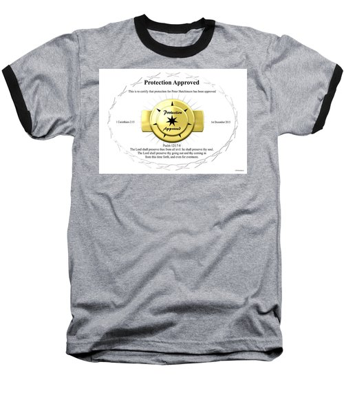 Protection Approved Baseball T-Shirt