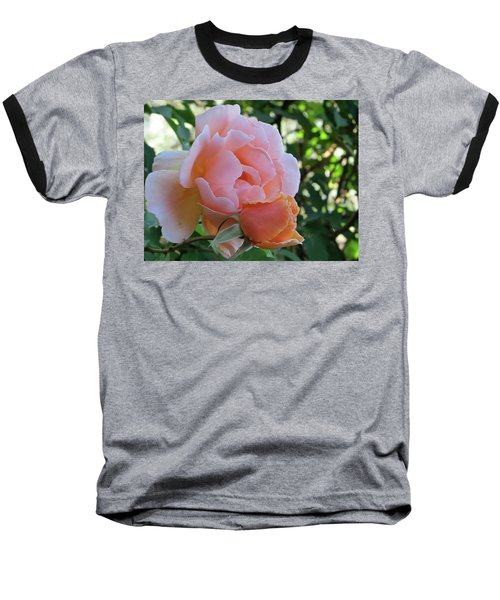 Protective Rose Baseball T-Shirt