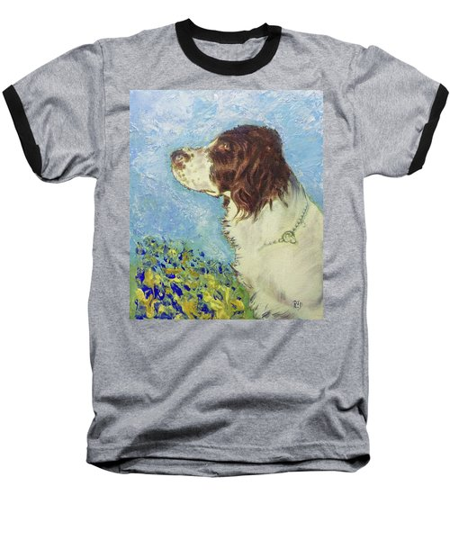 Proud Spaniel Baseball T-Shirt