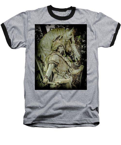 Paris, France - Proud Warrior And The Pigeon Baseball T-Shirt