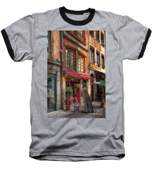 French Cafe Baseball T-Shirt