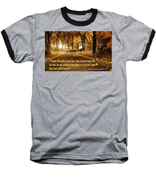 Proverbs104 Baseball T-Shirt