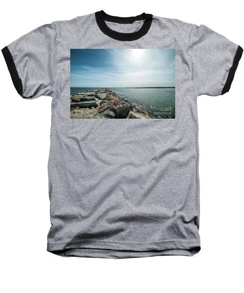 Provincetown Breakwater Baseball T-Shirt