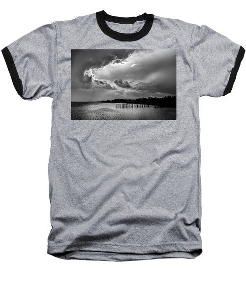 Baseball T-Shirt featuring the photograph Provincetown Storm by Charles Harden