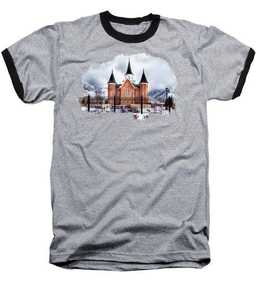 Provo City Center Temple Lds Large Canvas Art, Canvas Print, Large Art, Large Wall Decor, Home Decor Baseball T-Shirt