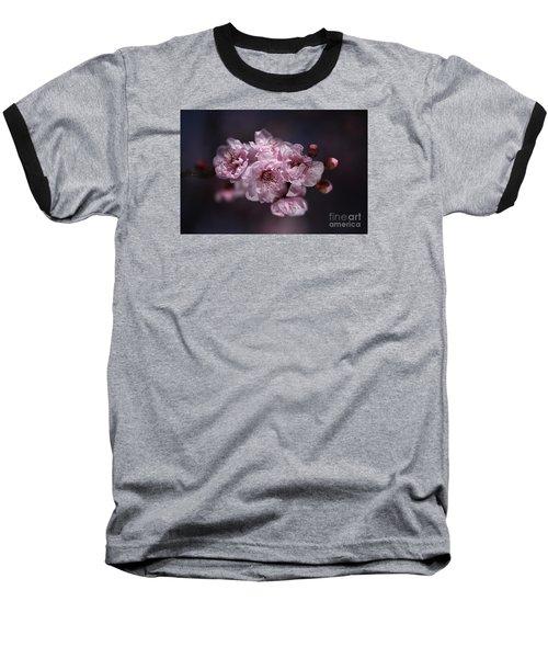 Prunus A Pink Spring Baseball T-Shirt by Joy Watson