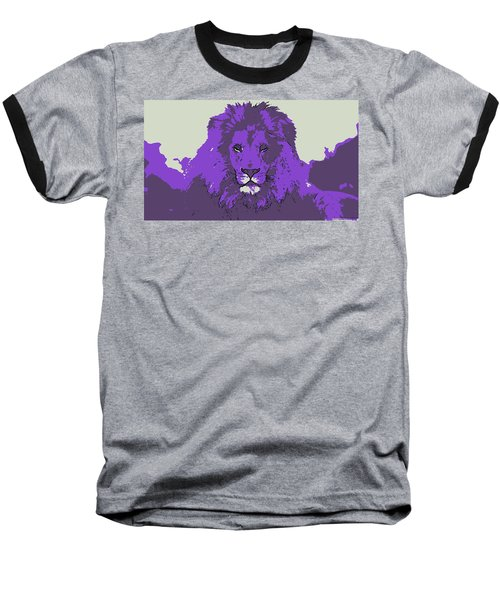 Pruple King Baseball T-Shirt