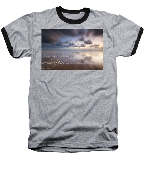 Psalm 19 1 Baseball T-Shirt