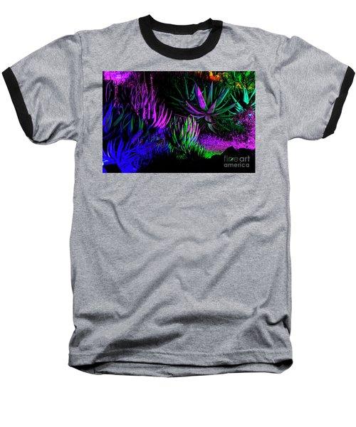 Psychedelia Baseball T-Shirt by Kathy McClure