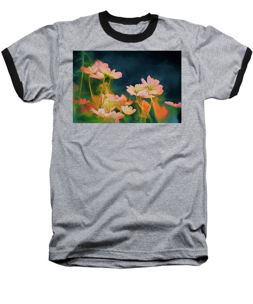 Psychedelic Cosmos Baseball T-Shirt