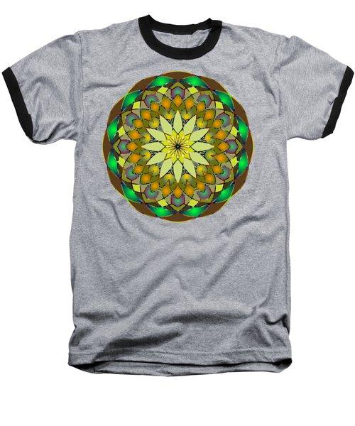 Psychedelic Mandala 008 A Baseball T-Shirt