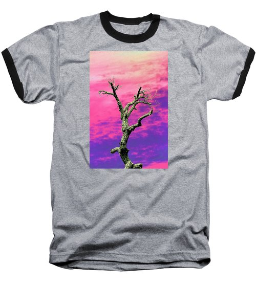 Psychedelic Tree Baseball T-Shirt