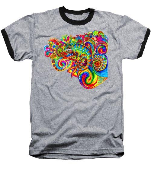 Psychedelizard Baseball T-Shirt