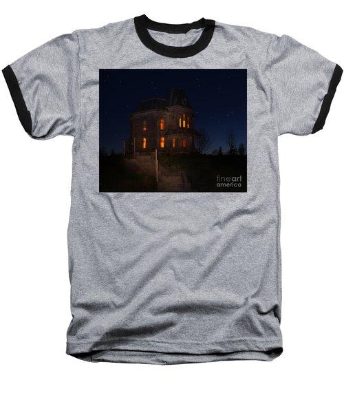 Psycho House-bates Motel Baseball T-Shirt