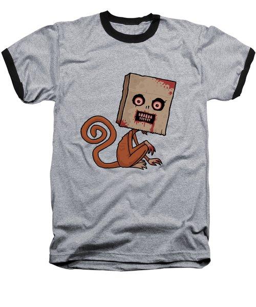 Psycho Sack Monkey Baseball T-Shirt