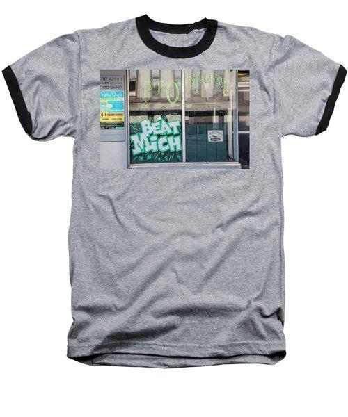 Pt O'maleys Beat Mich Baseball T-Shirt