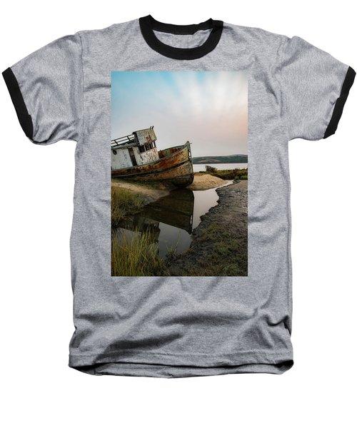 Pt. Reyes Shipwreck 4 Baseball T-Shirt