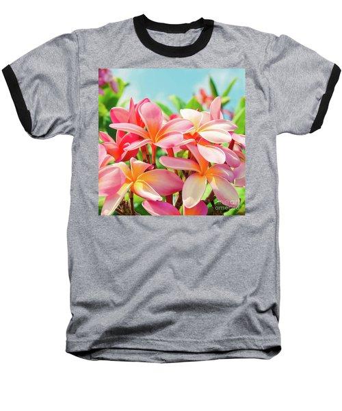Pua Melia Ke Aloha Maui Baseball T-Shirt