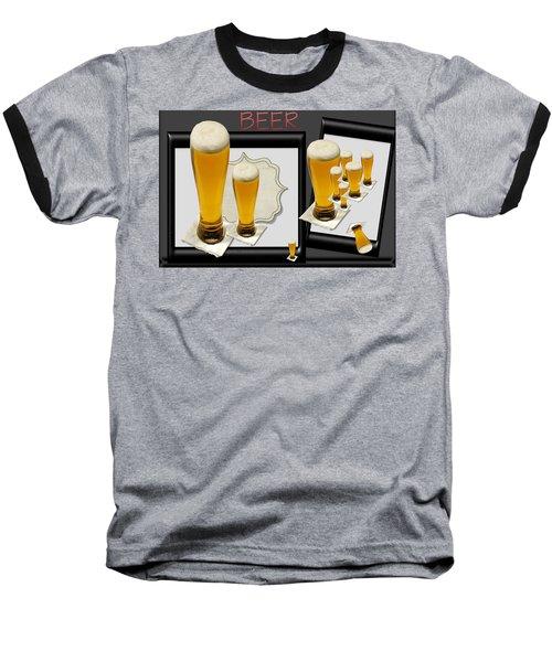 Pub Art Yes Baseball T-Shirt by Tina M Wenger