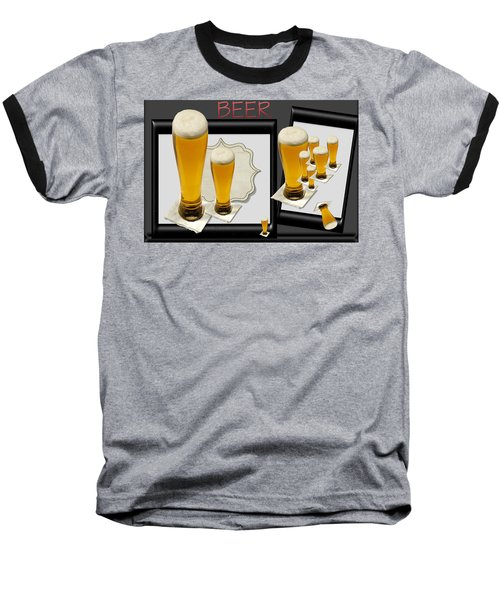 Pub Art Yes Baseball T-Shirt