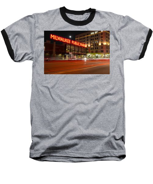 Public Market Baseball T-Shirt