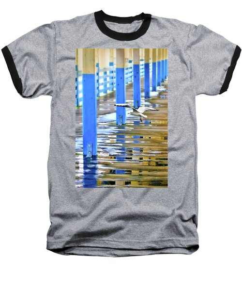 Baseball T-Shirt featuring the photograph Puddles by Diana Angstadt