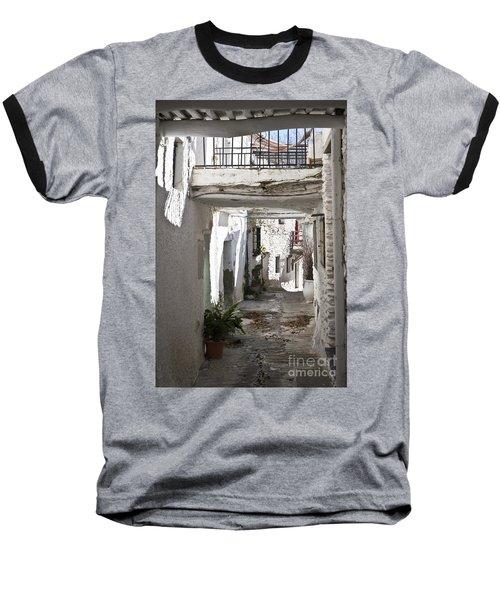 Baseball T-Shirt featuring the photograph Puebla Blanca Capileira by Heiko Koehrer-Wagner